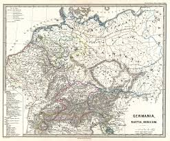 germania map file 1865 spruner map of germany in antiquity geographicus