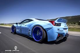 rally ferrari gold rush rally liberty walk ferrari 458 w armytrix titanium