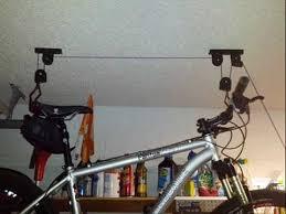 Bicycle Ceiling Hoist by Racor Pbh 1r Ceiling Mounted Bike Lift Ceiling Bike Storage