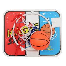 Indoor Wall Mounted Basketball Hoop For Boys Room Child Kids Sports Mini Backboard Hoop Net Set With Basketball