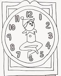 shelf elf coloring page funycoloring