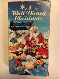 amazon com a walt disney christmas vhs movies u0026 tv