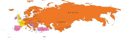 Geography Of Russia by Physical Geography Of Europe And Russia Map My Blog