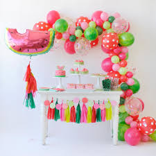 this watermelon party is juicy u0026 delicious birthdays and party time