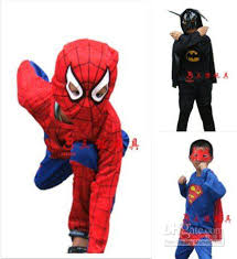 Spiderman Toddler Halloween Costume 2017 Superman Batman Spiderman Kid Costume Halloween Spiderman