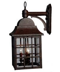 revere lantern hanover lantern b8312rm revere large 10 inch wide 3 light outdoor