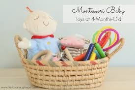 montessori baby toys at 4 months