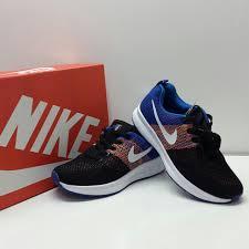Sepatu Nike Running Wanita batam branded sepatu sport nike running biru semi ori 2017 xy002