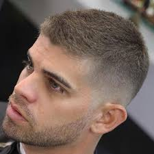 tight clean hairstyles 1975 men 40 stylish haircuts for men low fade crew cuts and shorts
