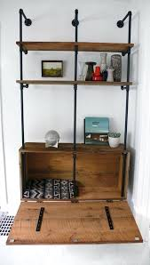 pipe desk with shelves industrial pipe furniture industrial pipe desk and shelving
