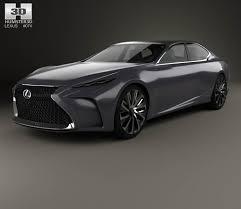 lexus lf fc interior lexus lf fc 2015 3d model hum3d