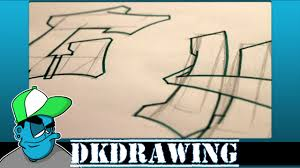 graffiti tutorial for beginners how to draw cool letters g u0026 h