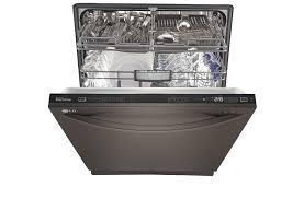 dishwasher heavy light flashing lg ldf7774bd black stainless steel dishwasher with easyrack lg usa