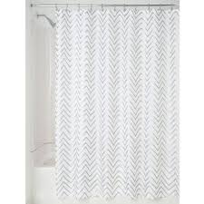 Silver And White Shower Curtain 100 White Cloth Shower Curtain Images Home Living Room Ideas