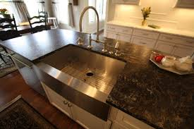 kitchen island with sink kitchen island sink traditional kitchen cleveland by