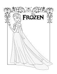 frozen coloring pages elsa coronation 30 best 30 free frozen colouring pages images on pinterest