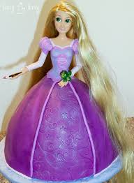 princess rapunzel cake tutorial ashlee marie