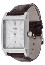 hugo boss mens black architecture watch brown tl6038 uk discount