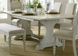 Cannes Dining Table Lark Manor Saguenay Trestle Dining Table U0026 Reviews Wayfair