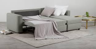 aidian corner storage sofa bed silver grey made com