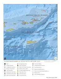 United States Virgin Islands Map by Us Virgin Islands Profile