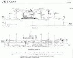 u s n s comet a revolutionary cargo vessel the model shipwright