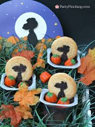 great pumpkin pudding cups party pinching