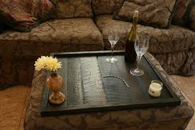 splendid oversized ottoman tray with ottoman serving tray top