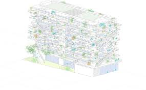 gallery of nl a reveals plans for open concept green office