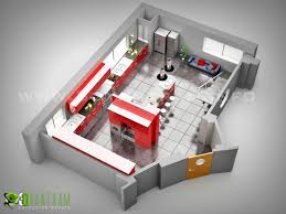 floorplan design of kitchen by yantram 3d floor plan creator