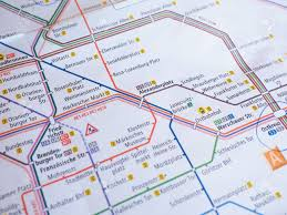 Map Of Berlin Germany by Berlin Germany January 10 2015 Tube Map Of Berlin Underground