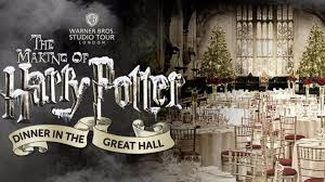 harry potter fans can eat christmas dinner in hogwarts great hall