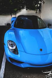 Porsche 918 Blue - mobile hd wallpapers porsche 918 spyder blue sports transport