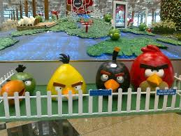 quartet angry birds singapore u0027s changi airport terminal 3