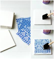 Diy Coasters Diy Tile Coasters It All Started With Paint