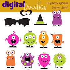monsters halloween halloween monsters digital clip art clip art library