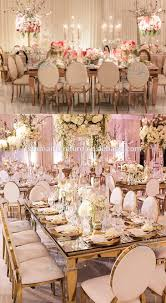 rose gold dining room furniture banquet stainless steel table