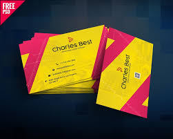 Best Business Card Designs Psd 59 Free Business Card Templates Psd To Download Graphiceat