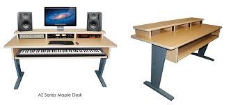 home studio workstation desk how to build home recording desk plans pdf plans producers desk with