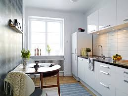 Kitchen Backsplash Ideas - Small apartment kitchen design ideas