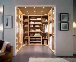 stylish master bedroom closet design ideas with modern recessed
