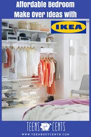 Teen Bedroom MakeOver Ideas From IKEA TeensGotCents - Bedroom make over ideas