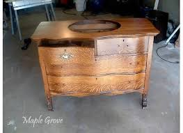 How To Turn A Dresser Into A Bathroom Vanity by Repurpose A Dresser Into A Bathroom Vanity How Tos Diy Antique