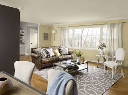 Leather Sofa And Armchair Stunning Brown And Grey Living Room Beige Color Wall Brown Accent
