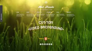 wp themes video background creative video background wordpress themes