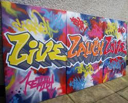 live laugh love canvas fresh paint