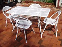 Vintage Woodard Patio Furniture Patterns by Salterini Ebay Asking 850 00 Vintage Wrought Iron Patio