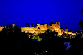Carcassonne File Fortified City Of Carcassonne At Night003 Jpg Wikimedia Commons