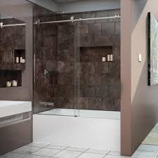 shower door on bathtub 5 bathroom decor with installing sliding