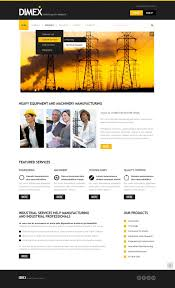 lighting u0026 electricity drupal template 37217